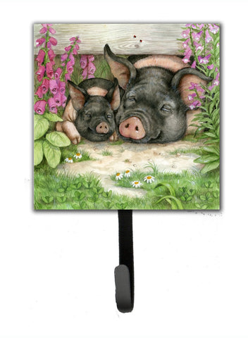 Buy this Pigs Under The Fence by Debbie Cook Leash or Key Holder CDCO0355SH4
