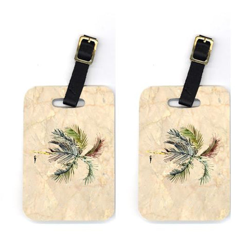 Buy this Pair of Palm Tree Luggage Tags