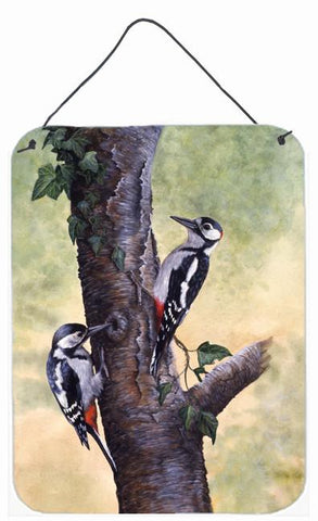 Buy this Woodpeckers by Daphne Baxter Wall or Door Hanging Prints BDBA0335DS1216