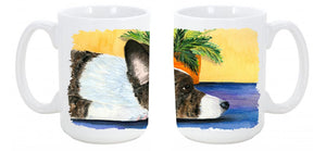 Buy this Corgi Dishwasher Safe Microwavable Ceramic Coffee Mug 15 ounce SS8190CM15