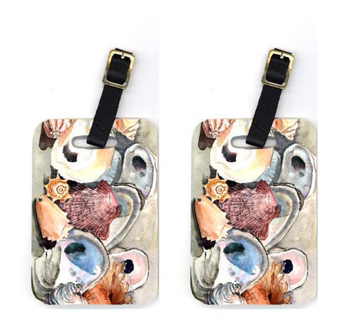 Buy this Pair of Sea Shells Luggage Tags
