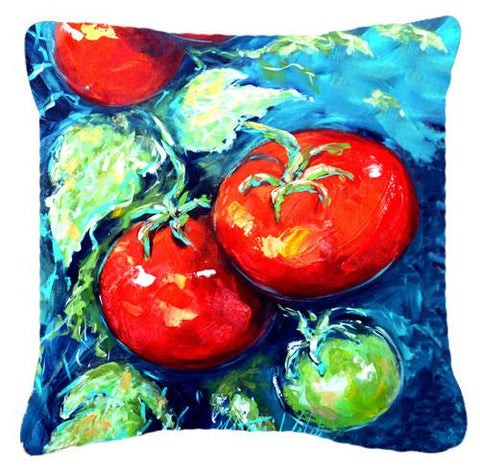 Buy this Vegetables - Tomatoes on the vine Canvas Fabric Decorative Pillow MW1148PW1414