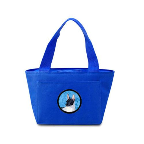Buy this Blue Rat Terrier  Lunch Bag or Doggie Bag SS4756-BU