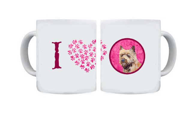 Cairn Terrier  Dishwasher Safe Microwavable Ceramic Coffee Mug 15 ounce by Caroline's Treasures