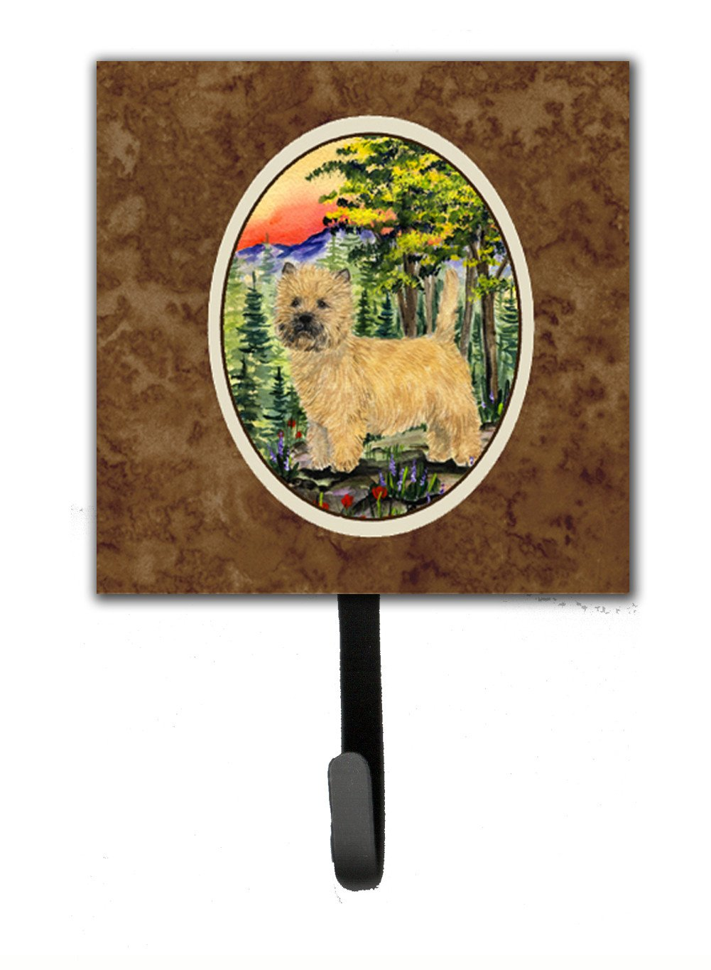 Cairn Terrier Leash Holder or Key Hook by Caroline's Treasures