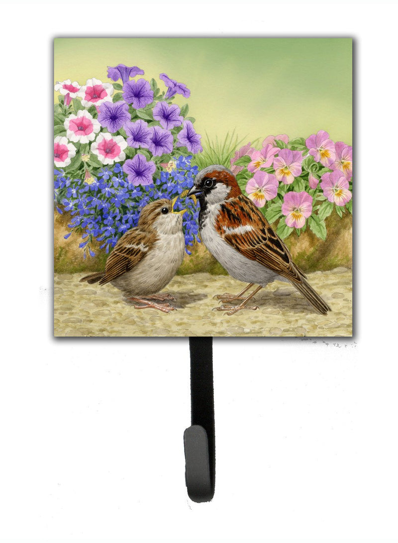 Buy this House Sparrows Feeding Time Leash or Key Holder ASAD0700SH4