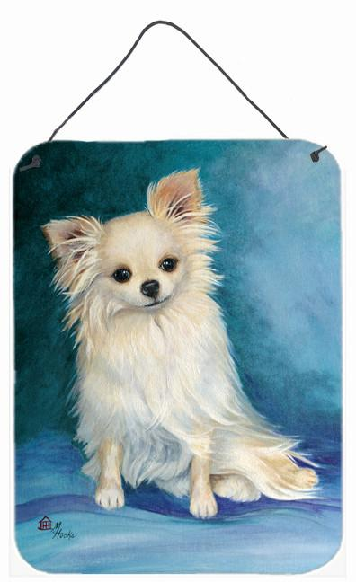 Jazz Chihuahua Long Hair  Wall or Door Hanging Prints MH1040DS1216 by Caroline's Treasures