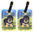 Pair of 2 Tibetan Mastiff Luggage Tags by Caroline's Treasures