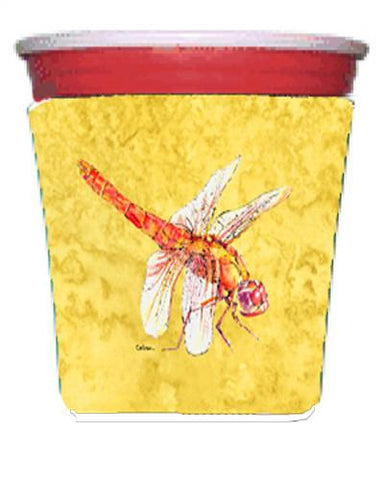 Buy this Dragonfly on Yellow Red Solo Cup Beverage Insulator Hugger
