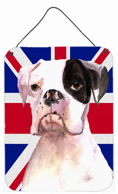 Buy this Boxer Cooper with English Union Jack British Flag Wall or Door Hanging Prints RDR3030DS1216