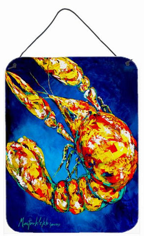 Buy this Big Boy on Blue Crawfish Wall or Door Hanging Prints MW1185DS1216