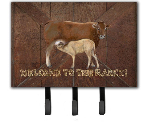 Buy this Welcome to the Ranch with the Cow and Baby Leash or Key Holder SB3084TH68