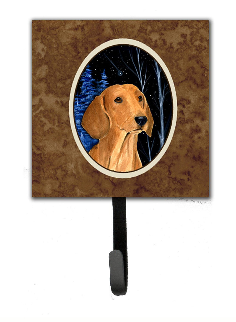 Buy this Starry Night Dachshund Leash Holder or Key Hook