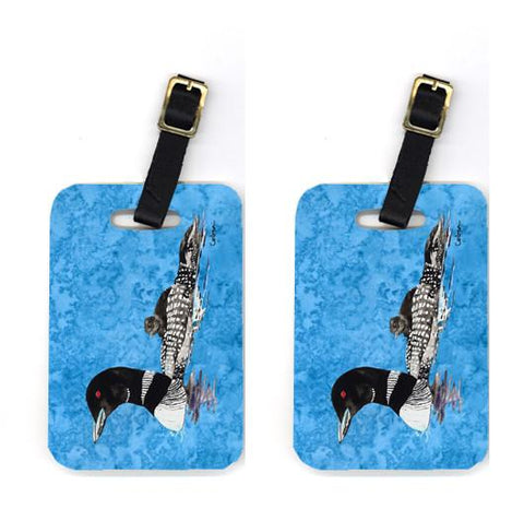 Buy this Pair of Momma and Baby Loon Luggage Tags