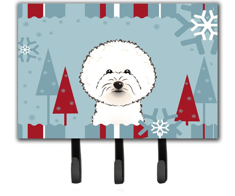 Buy this Winter Holiday Bichon Frise Leash or Key Holder BB1713TH68