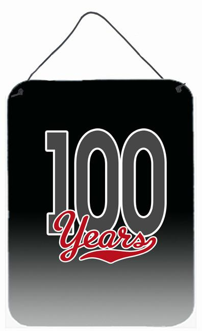 Buy this 100 Years Wall or Door Hanging Prints CJ1092DS1216