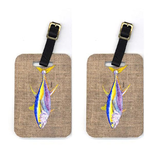 Buy this Pair of Fish - Tuna Luggage Tags