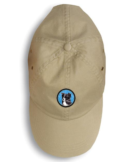 Border Collie Baseball Cap SC9138BU by Caroline's Treasures