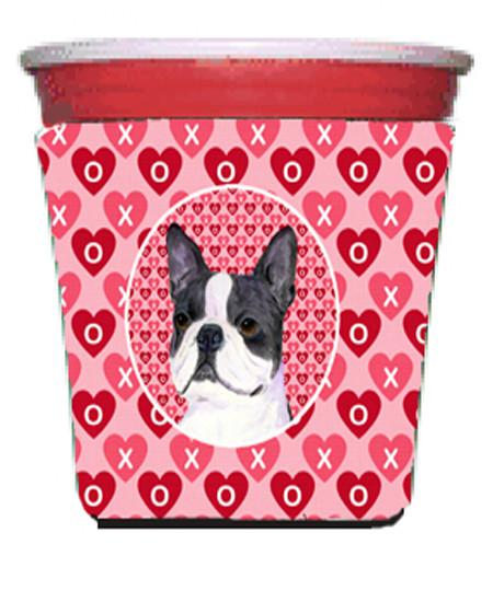 Buy this Boston Terrier  Red Solo Cup Beverage Insulator Hugger