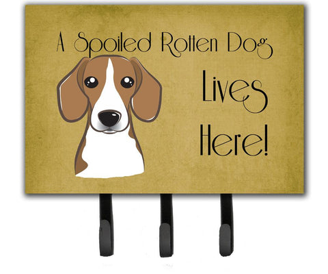 Buy this Beagle Spoiled Dog Lives Here Leash or Key Holder BB1487TH68