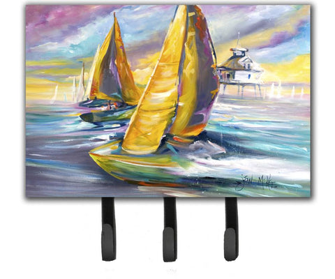 Buy this Sailboat with Middle Bay Lighthouse Leash or Key Holder JMK1061TH68