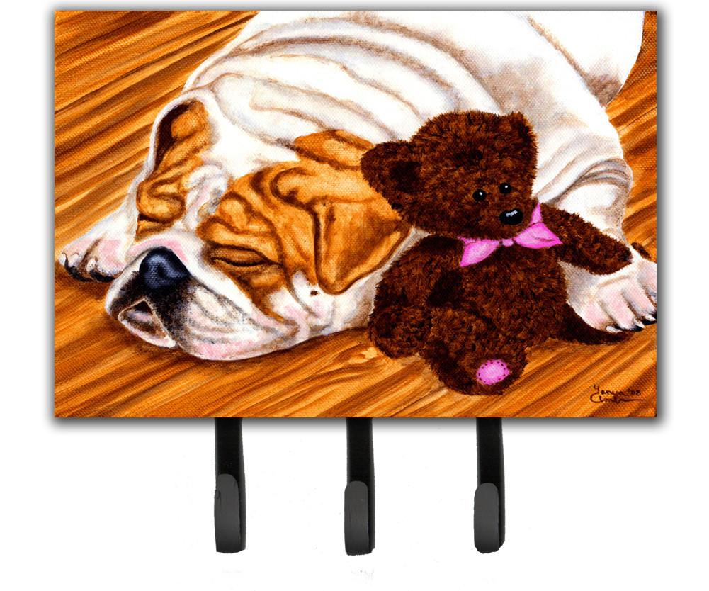 Buy this English Bulldog and Teddy Bear Leash or Key Holder AMB1003TH68