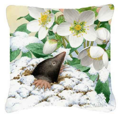 Mole by Sarah Adams Canvas Decorative Pillow ASAD0387PW1414 by Caroline's Treasures
