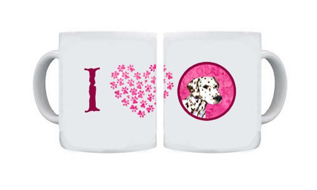Dalmatian  Dishwasher Safe Microwavable Ceramic Coffee Mug 15 ounce SS4745 by Caroline's Treasures