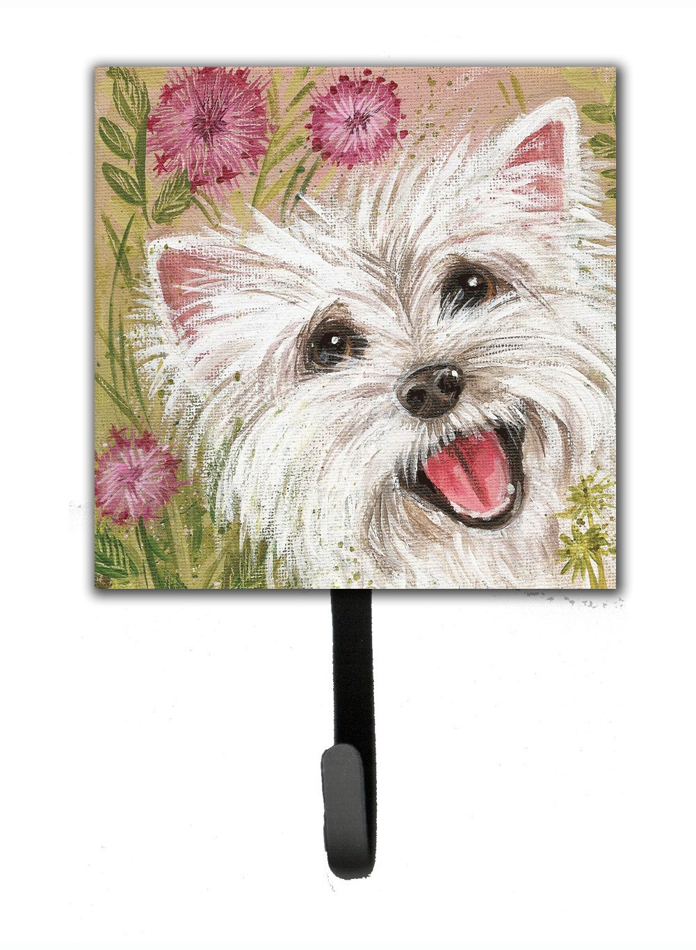 Buy this Westie by Judith Yates Leash or Key Holder JYJ0018SH4