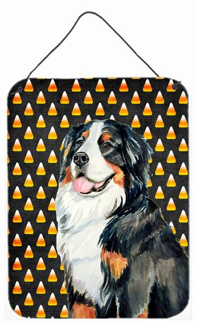 Bernese Mountain Dog Candy Corn Halloween Portrait Wall Or