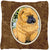 Chow Chow Decorative   Canvas Fabric Pillow by Caroline's Treasures