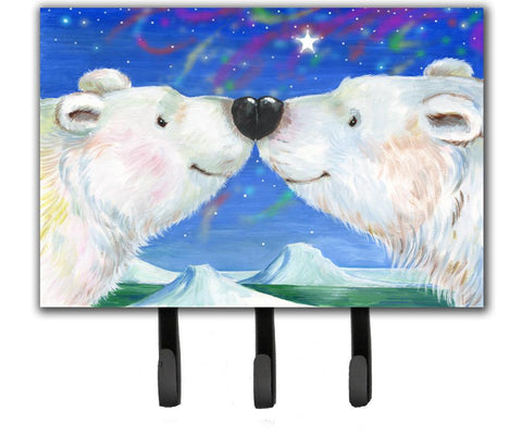 Buy this Polar Bears Polar Kiss by Debbie Cook Leash or Key Holder CDCO0487TH68