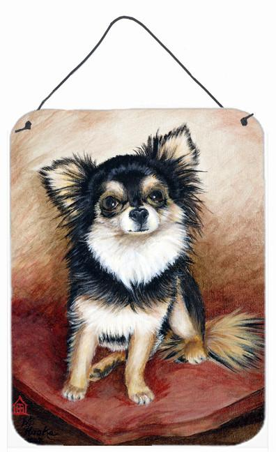 Chihuahua Long Hair Wall or Door Hanging Prints MH1035DS1216 by Caroline's Treasures