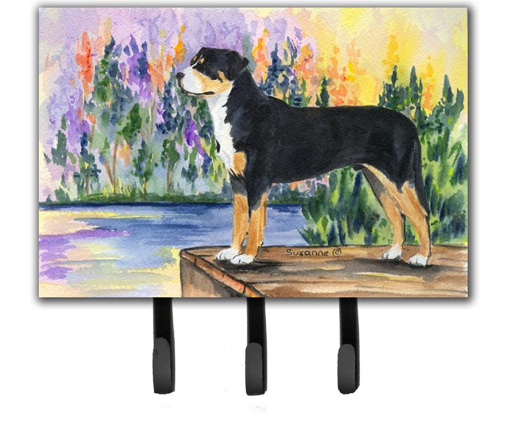 Greater Swiss Mountain Dog Leash Holder or Key Hook by Caroline's Treasures