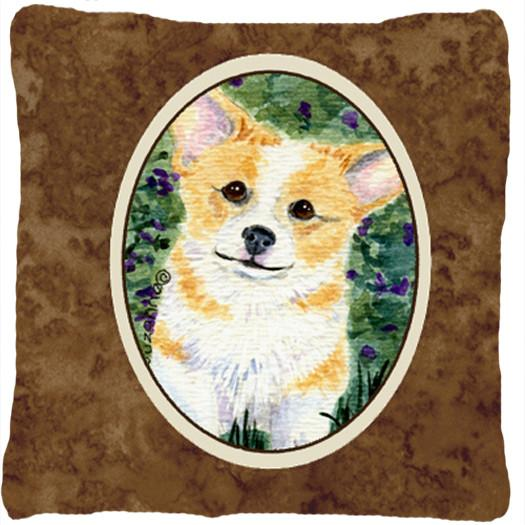 Corgi Decorative   Canvas Fabric Pillow - the-store.com