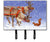 Reindeer & Squirrel Leash or Key Holder ASA2173TH68 by Caroline's Treasures