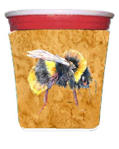 Buy this Bee on Gold Red Solo Cup Beverage Insulator Hugger