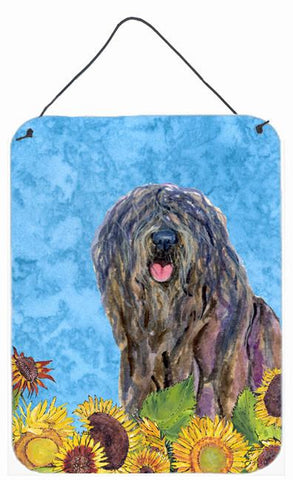 Buy this Bergamasco Sheepdog Aluminium Metal Wall or Door Hanging Prints