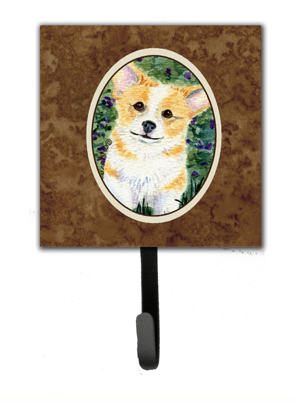 Buy this Corgi Leash Holder or Key Hook