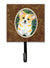 Corgi Leash Holder or Key Hook by Caroline's Treasures
