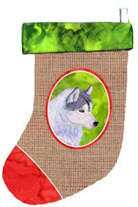 Buy this Siberian Husky Christmas Stocking SS2085