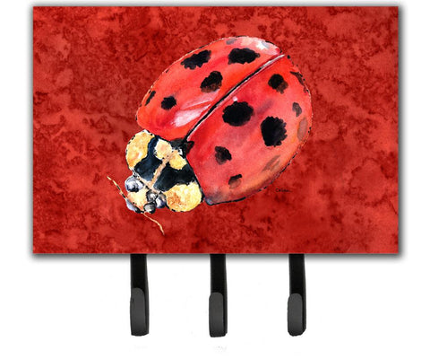 Buy this Lady Bug on Deep Red Leash or Key Holder