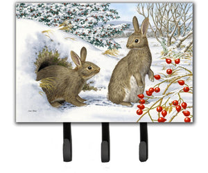 Buy this Winter Rabbits Leash or Key Holder ASA2181TH68