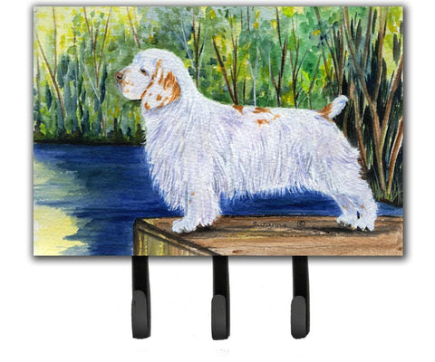 Buy this Clumber Spaniel Leash Holder or Key Hook