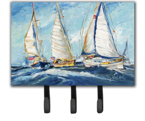 Buy this Roll me over Sailboats Leash or Key Holder JMK1027TH68