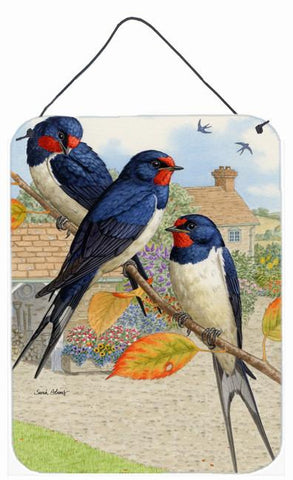Buy this Barn Swallows Wall or Door Hanging Prints ASA2106DS1216