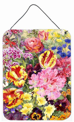 Buy this Summer Floral by Anne Searle Wall or Door Hanging Prints SASE0953DS1216