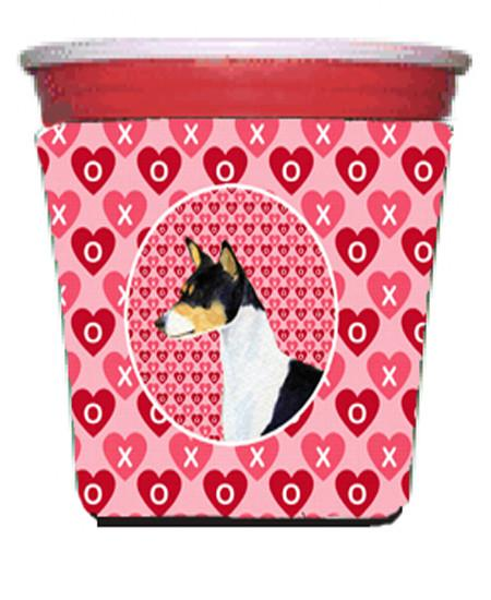 Buy this Basenji  Red Solo Cup Beverage Insulator Hugger