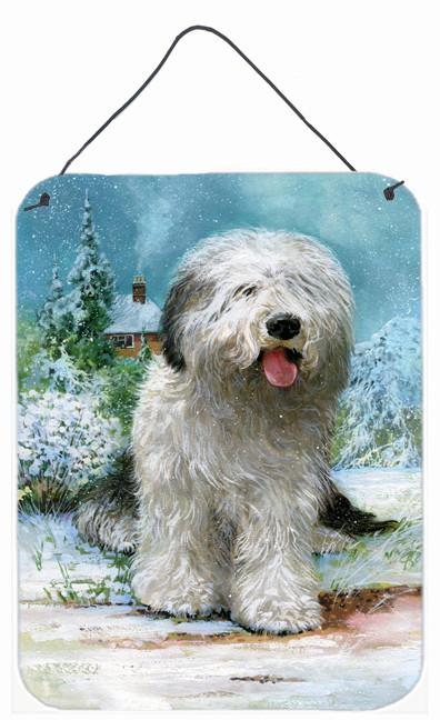 Buy this Old English Sheepdog by Don Squires Wall or Door Hanging Prints SDSQ0304DS1216