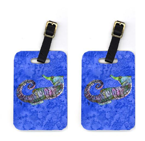 Buy this Pair of Seahorse Luggage Tags